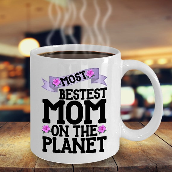 Mother Gift From Daughter And Son Mom Mug Birthday