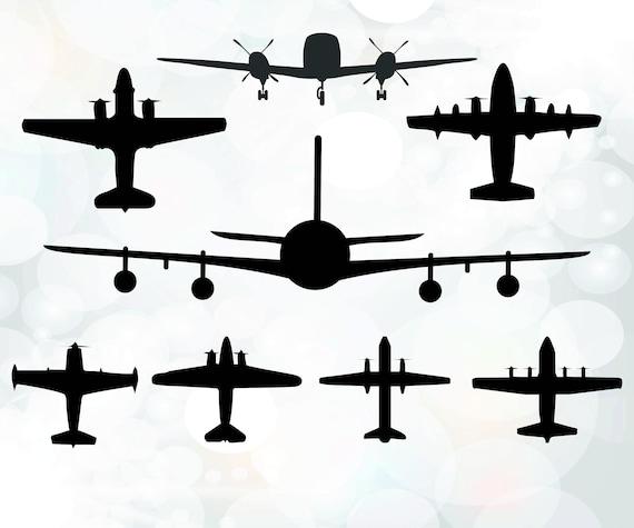 Planes Svg File Airplanes Svg Plane Cricut Svg Plane Etsy