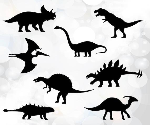 Dinosaurier SVG Dinosaurier-Schnittmuster kommerziellen | Etsy