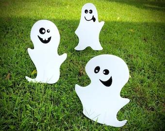 Halloween Ghost Yard Decor     Yard Signs     Halloween Decorations     Yard Art     Ghost Decorations