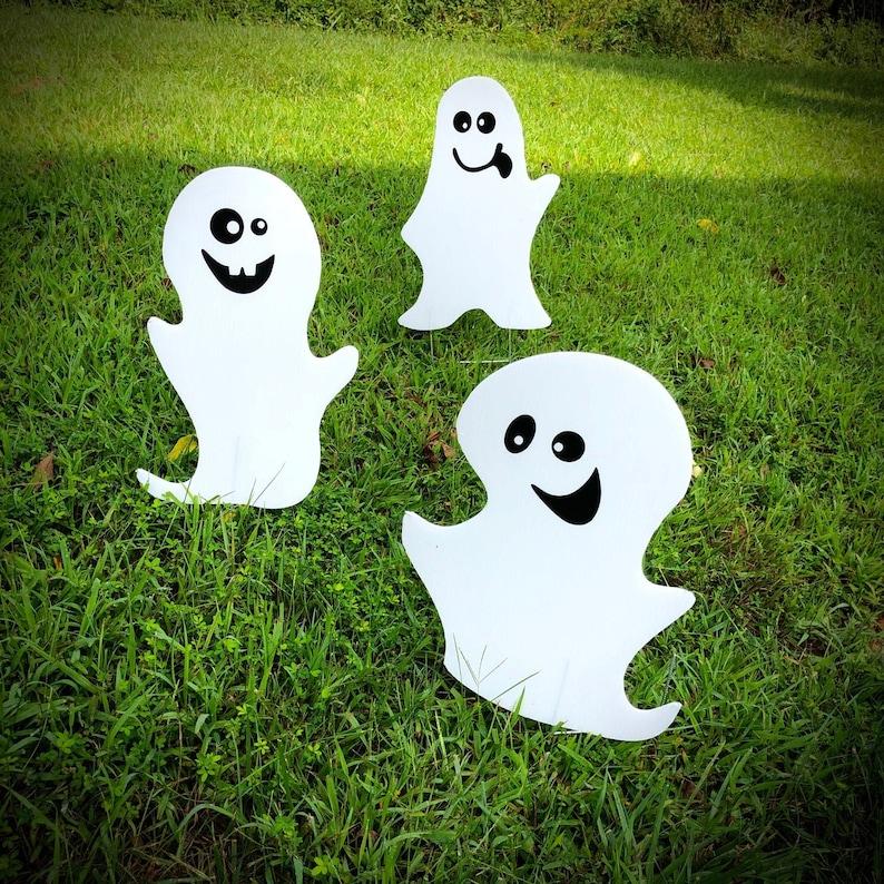 Halloween Ghost Yard Decor  Yard Signs  Halloween image 0