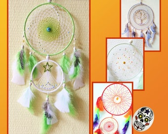 Dreamcatcher Dream Catcher Personalized Mobile On Command SIZE and COLORS Choice
