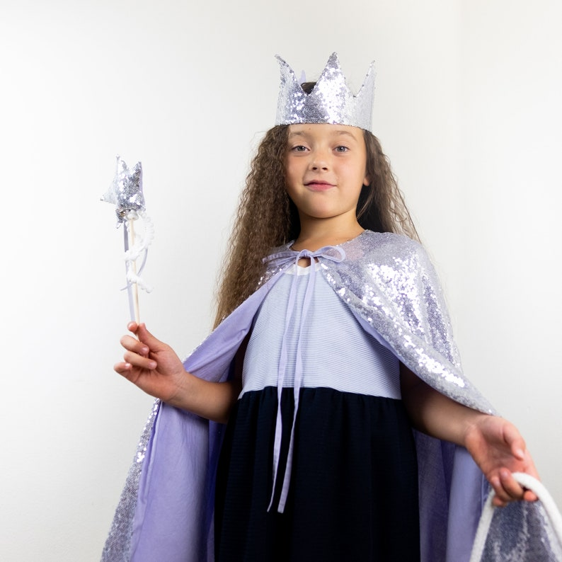 Christmas costume Witch costume Black angel Queen costume Kids birthday costume FAST SHIPPING Sequin Angel costume Princess costume