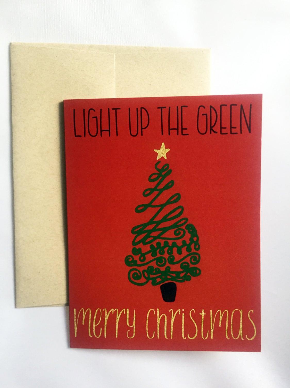 Christmas Greeting Card Funny Christmas Greeting Card Etsy