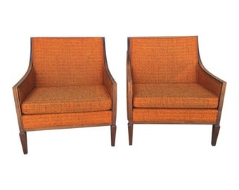 Quick View. Pair Of Milo Baughman Chairs ...