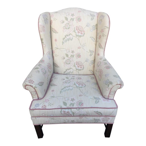 Fantastic Upholstered Wingback Chair By Drexel Heritage Pdpeps Interior Chair Design Pdpepsorg