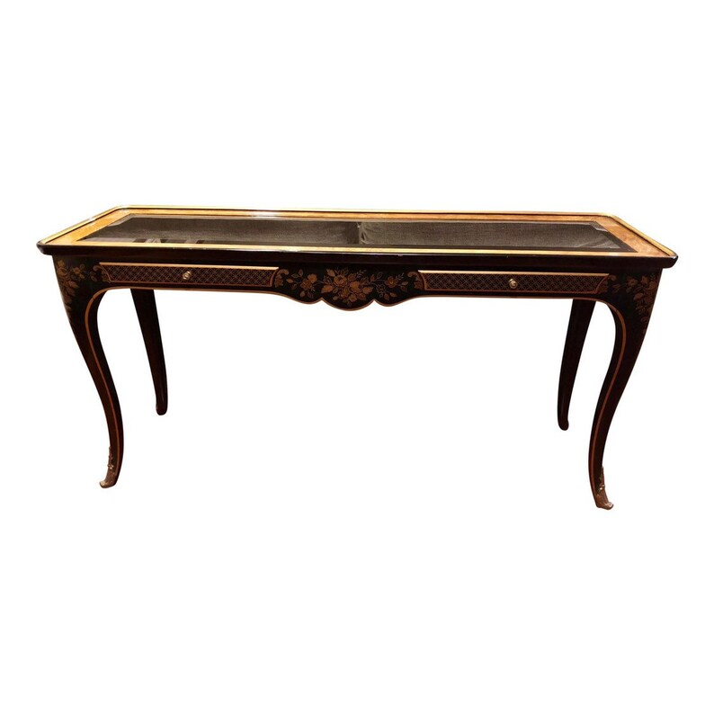Genial Chinoiserie Vintage Console Table By Drexel Heritage Et Cetera
