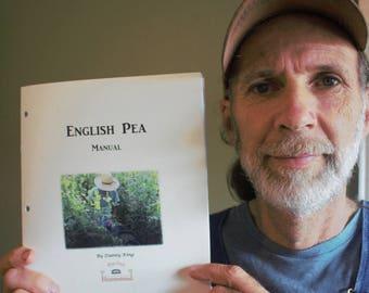 English Pea Manual - Hard copy book