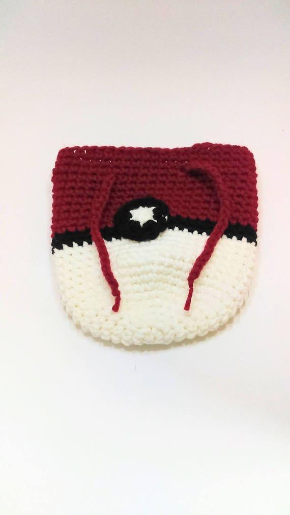Pokemon Würfel Tasche Pokeball Würfel Tasche Beutel Häkeln Etsy