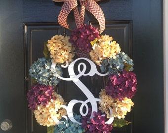 Fancy Hydrangea Wreath