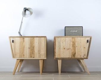 Table bureau en bois recyclé u puces d oc brocante en ligne