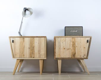 Bureau bureau en bois bureau style scandinave bureau en etsy