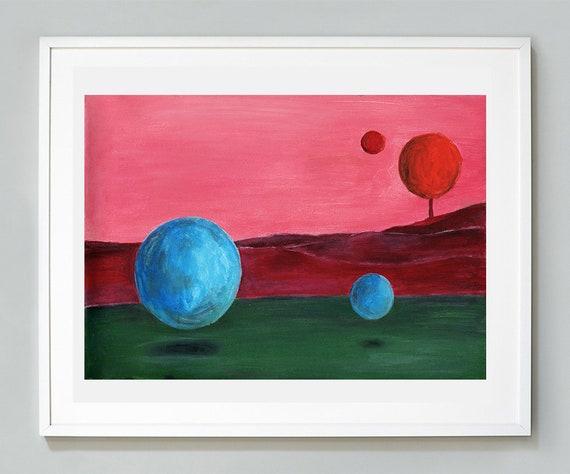 Abstract Artwork Identity Art