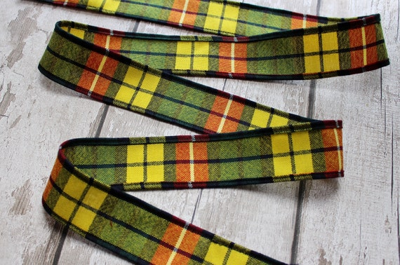 Christmas Wired Edge Check Plaid Ribbon for Gift Wrapping YBB 2 Rolls Red and Green Plaid Burlap Ribbon with Snowflake Patterns DIY Wreath Floral Bows Crafts Decoration 2.5 Inches by 10 Yards