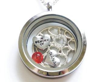 Nana Remembrance Jewelry, Memorial Nana Necklace, Nana Remembrance, Bereavement Gift, Bereavement Jewelry, In Remembrance, Sympathy Jewelry