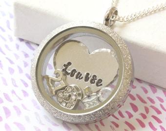 21st Birthday Gift, Girls 21st birthday Necklace, Necklaces for 21st Birthday, 21st Birthday Locket, Gifts for 21st Birthday Girl, Floating