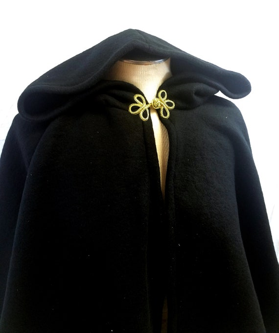 Black Cape Fantasy Item Art