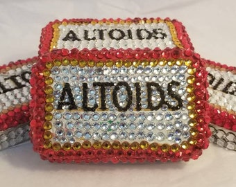 Crystal BLING Al toids Peppermint, Regular Size 1.76 tin,  Free shipping included.
