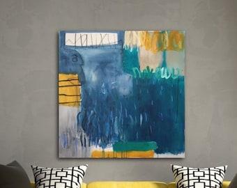 Original Art, abstract Art, abstract Painting, modern art, living room art, wall art,  acrylic painting, contemporary art, Big Brother