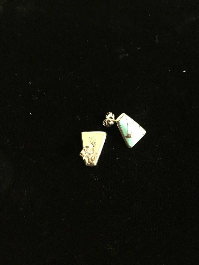 Authentic Zuni Earrings