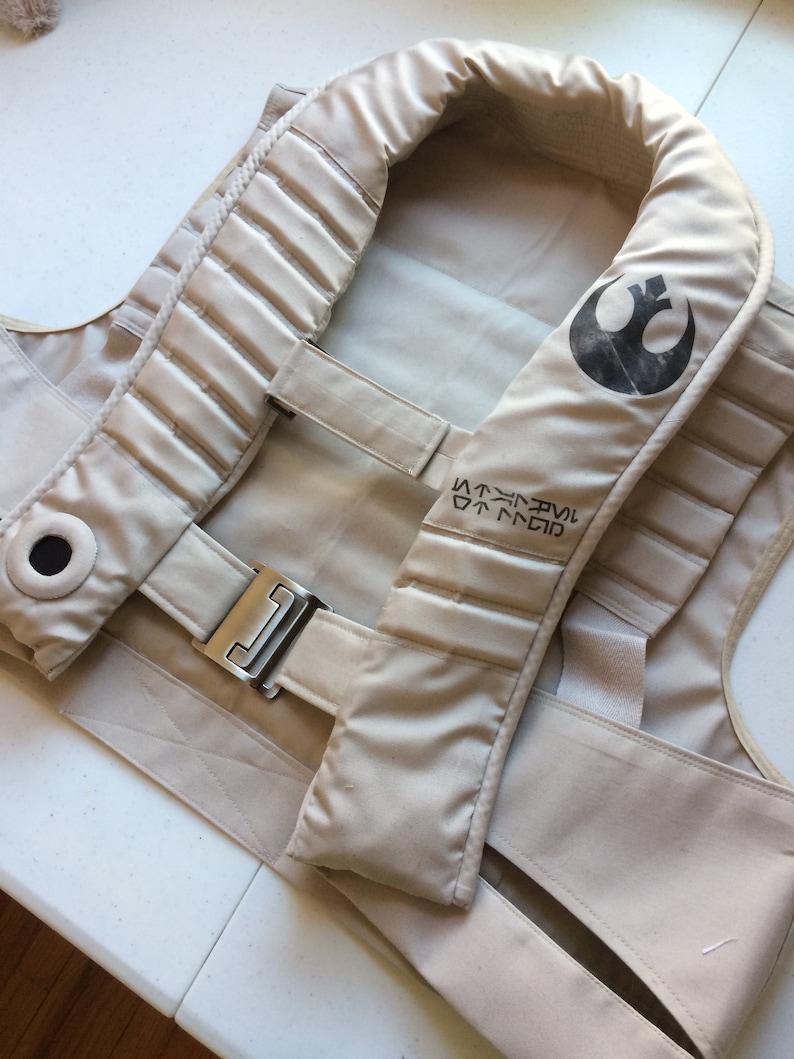 photograph regarding Printable Vest Pattern named Star Wars Vest Printable Electronic Sewing Routine + Guideline + Rebellion Emblem PDF Document, X-Wing Pilot Behavior, Poe Dameron vest Behavior