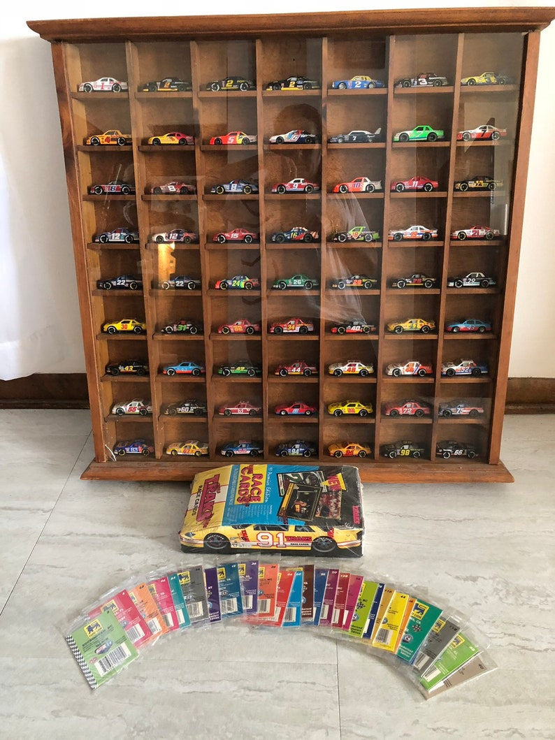 1991 Nascar Collection 63 Cars And Collectible Cards