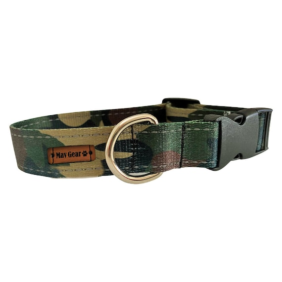 Dog Collar, Camo dog collar, puppy collar, Reflective dog collar, hunting dog collar, Shop quality dog collar from Mav Gear