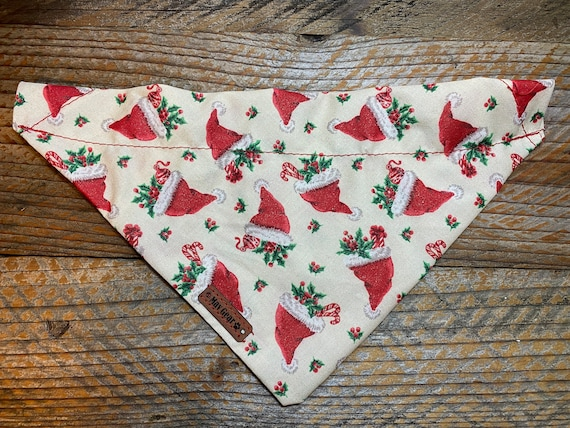 Dog Bandana Christmas Mav Gear Santa Hat