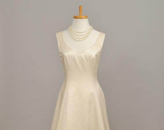 1970 Raquel Couture Vintage Wedding Gown