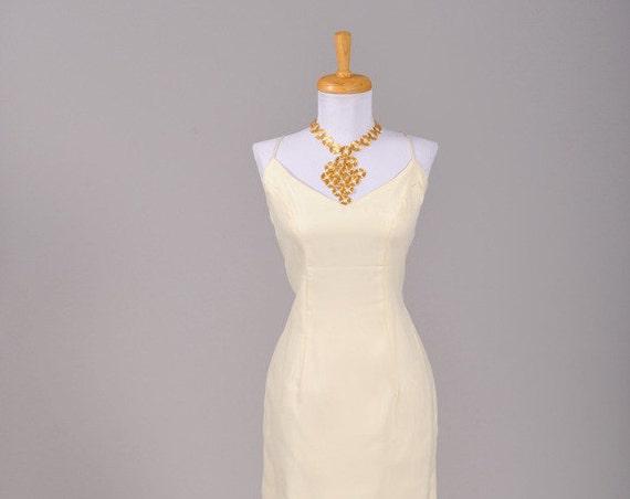 1970 Chiffon Mermaid Vintage Wedding Dress