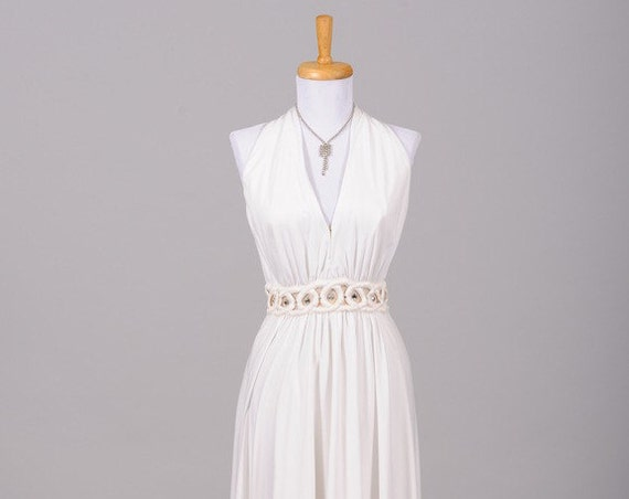 1970 Fred Perlberg Vintage Wedding Dress