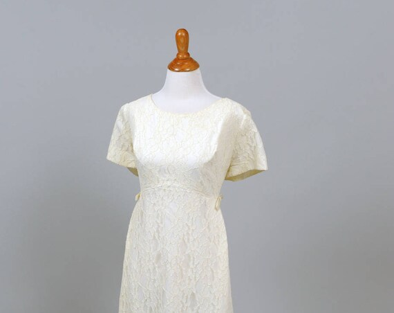 1960 Lace Vintage Wedding Gown