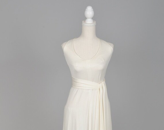 1970 Infinity / Convertible Vintage Wedding Gown