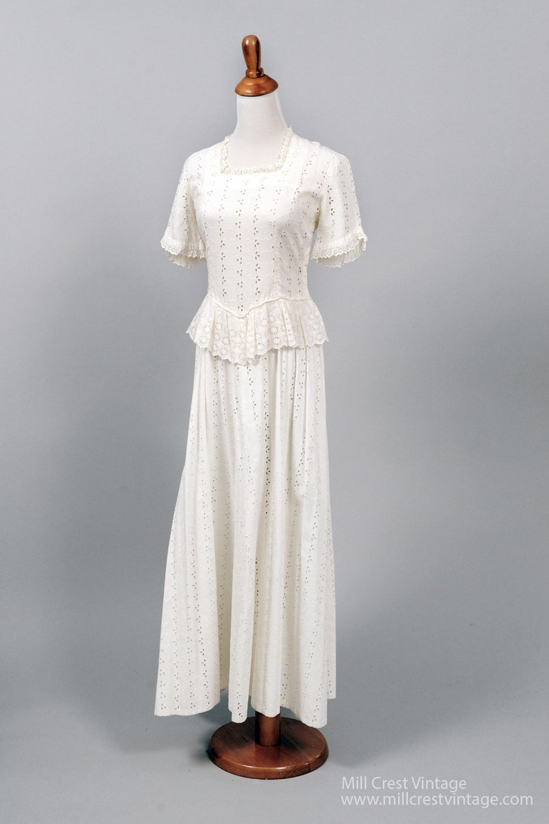 Vintage Wedding Gowns Etsy