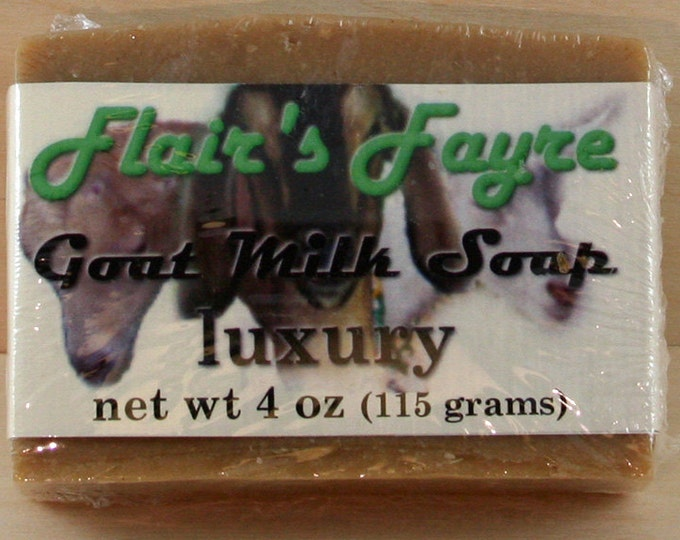 Featured listing image: luxury goat milk soap