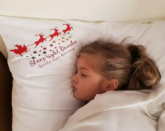 Personalised Christmas Pillowcase