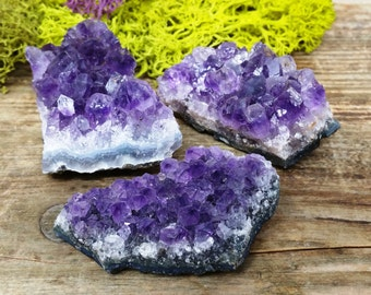 Amethyst Crystal Cluster - Perfect for Healing Grids and Terrariums - 530