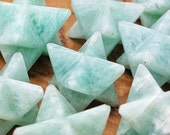 Amazonite Crystal Merkaba Star - Perfect for Jewelry making, Crystal Grids, or Terrariums 300