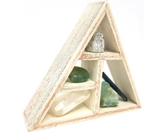 NEW BEGINNINGS Crystal Healing Shelf Kit / House warming gift set Boho Decor Raw natural healing crystals and stones  - 28