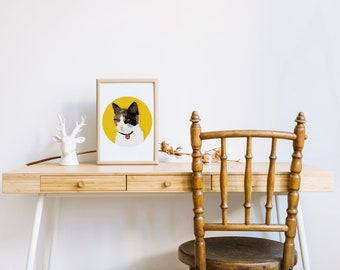 Custom Pet Portrait | Cats and maybe dogs if i feel like :)