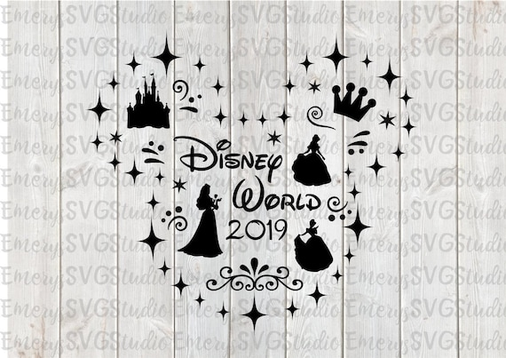 Svg Dxf File For Disney Princess Etsy