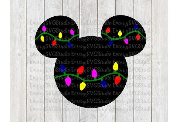 image 0 - Mickey Mouse Christmas Lights