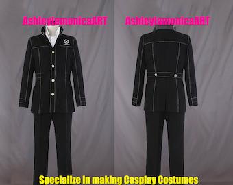 Persona 4 Yasogami  High School Adult Boys Uniform Cosplay Costume for Party