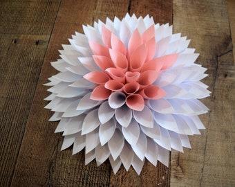 ANY COLOR Paper Flower, Paper Flower Wall Decor, Paper Flower Backdrop, Nursery Decor, Party Decor, Wedding Decor, Custom Paper Flower