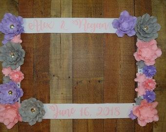 Custom Photo Frame Prop, Custom Photo Prop, Wedding Photo Frame prop, Photo Frame, Wedding Decorations, Party Decor, Custom Photo Frame Prop