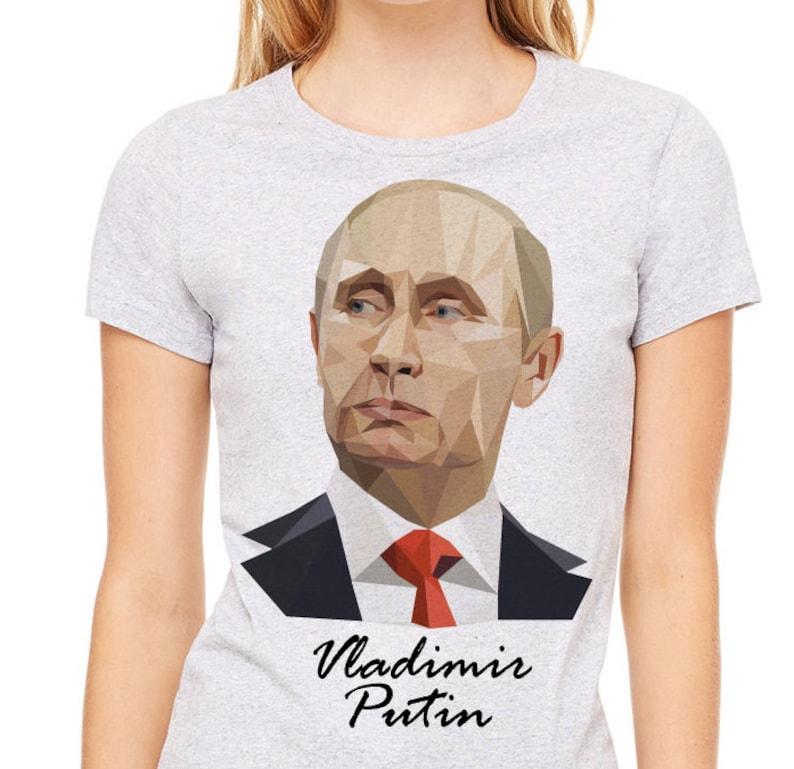 TeeEtsy Heather T Putin Shirt Vladimir Gray Donna MVqUzpSG