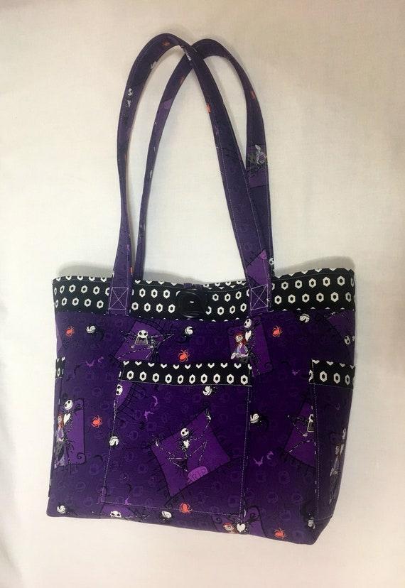 db1d0fbfaea ... Nightmare Before Christmas Handbag By The Bradford Exchange. image 0