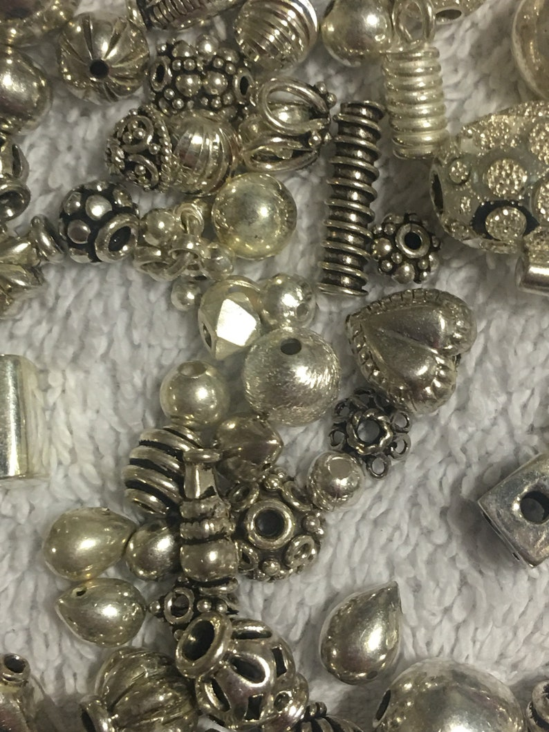 Sterling Silver assorted beads
