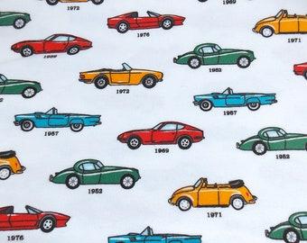 Classic Car Fabric Etsy