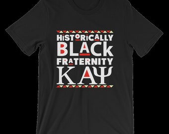 Historically Black Fraternity Kappa Alpha Psi Black t-shirt